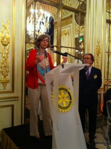 photo remise du Prix Servir Rotary Club le 25 mai 2016
